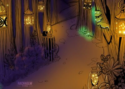 RachaelW-Day05-Lantern-Forest