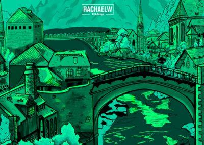RachaelW-Day23-EuropeanTown